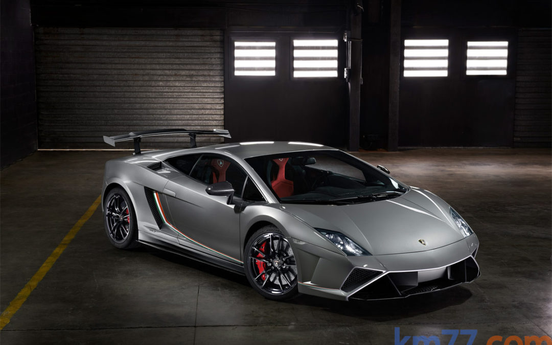 Lamborghini Gallardo LP 570-4 Squadra Corse en movimiento
