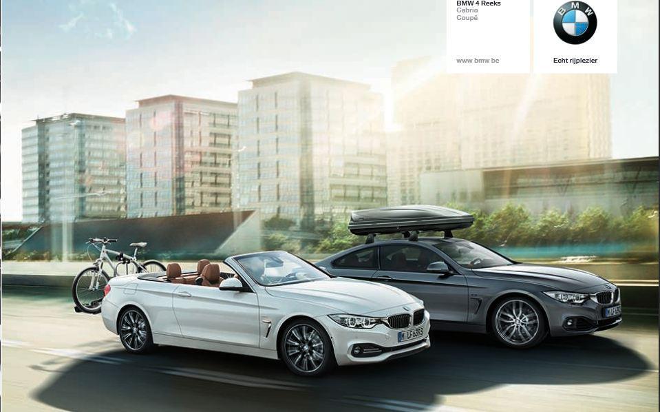 Primeras «imágenes» oficiales del BMW Serie 4 Cabrio