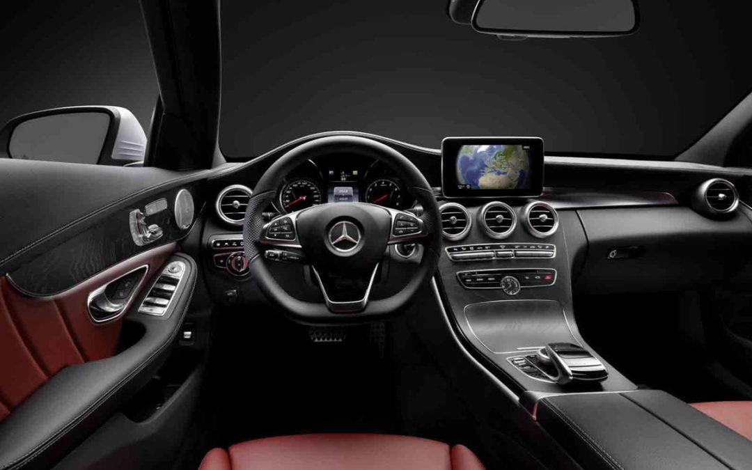 Así es el interior del nuevo Mercedes-Benz Clase C