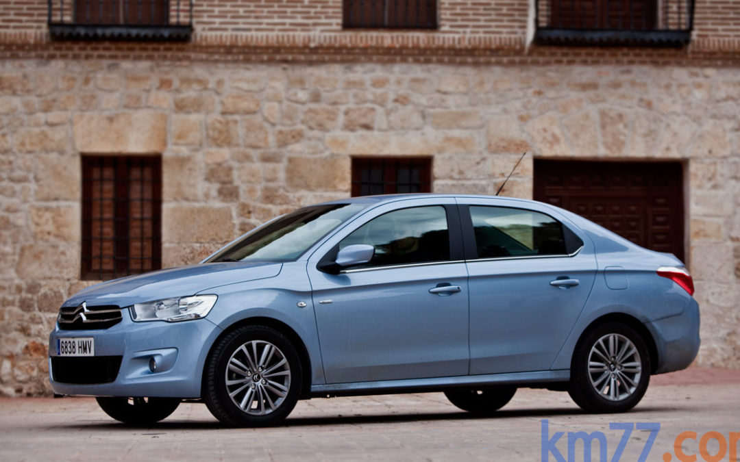 Citroën introduce el cambio ETG en la gama C-Elysée