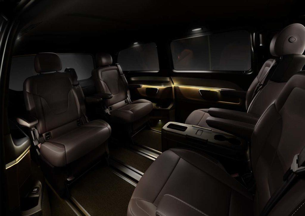 The new Mercedes-Benz V-Class ? Interior, Fond, TecDays 2013
