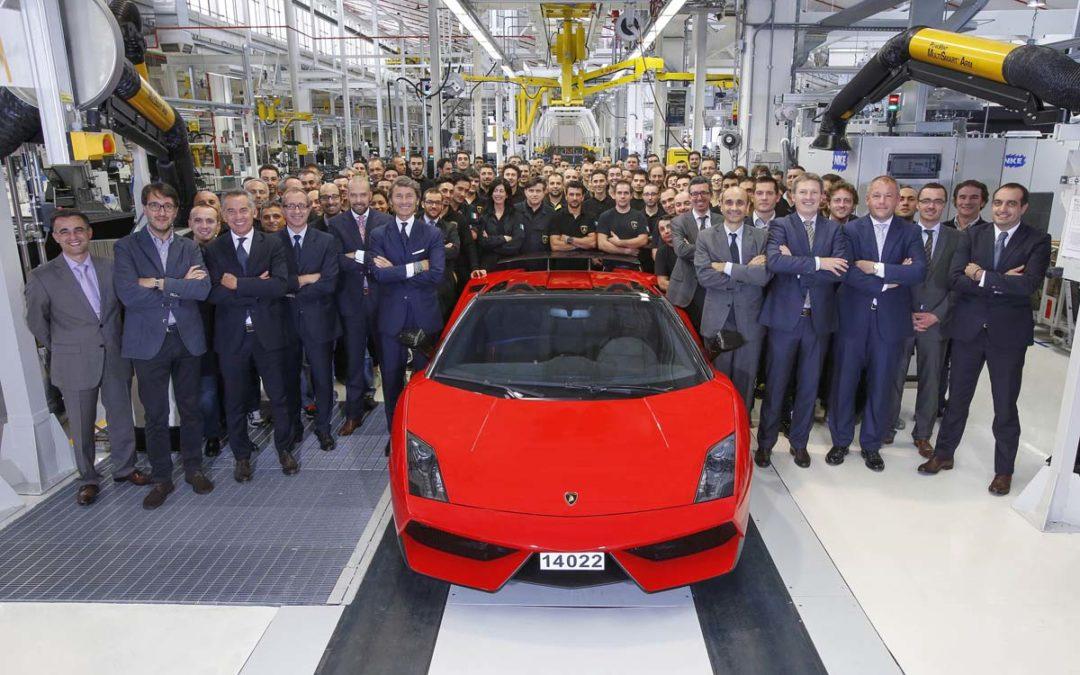 Homenaje al Lamborghini Gallardo. Repaso a su historia.
