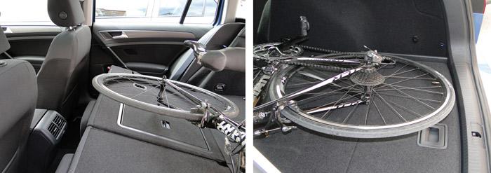 Los coches familiares son una buena alternativa para llevar bicis