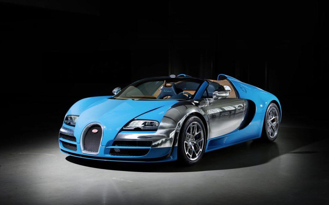 Meo Constantini. La tercera edición especial del Bugatti Veyron Vitesse Legend