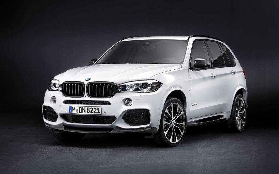 El BMW X5 recibe el Pack M Performance