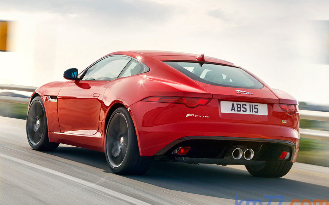 Jaguar F-Type Coupé, en vídeo.
