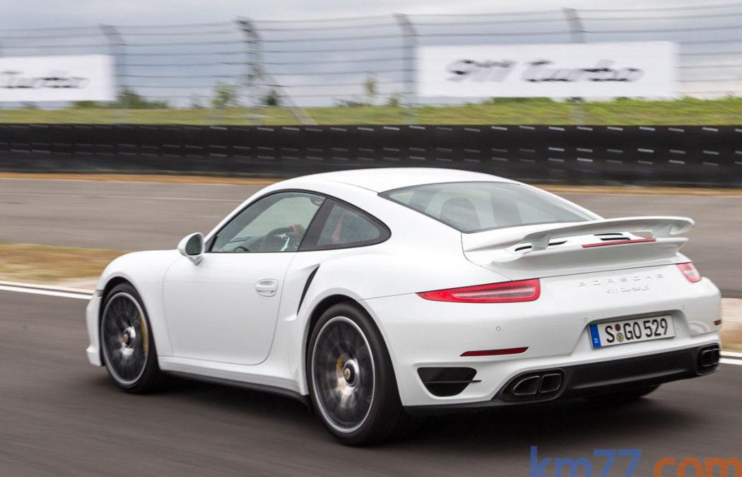Porsche 911 (991) Turbo S MY 2014 en circuito de Jarama