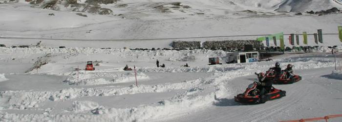 ice karting formigal
