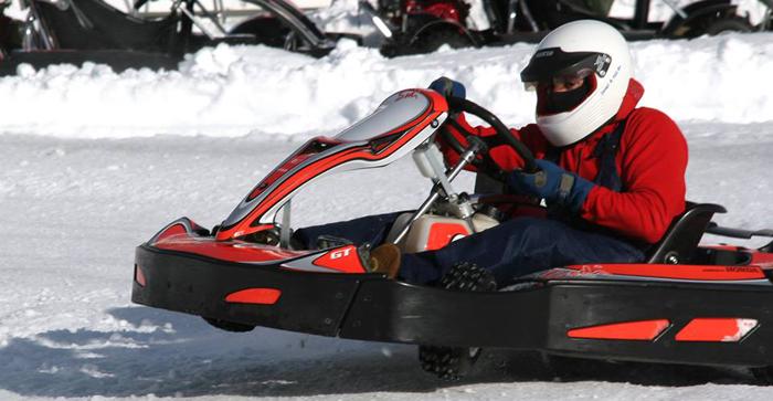 Ice karting formigal Arruti