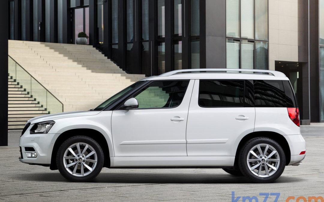 Nuevo Škoda Yeti, desde 17 519 €