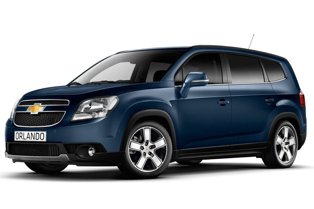 Chevrolet Orlando (MY 2014)