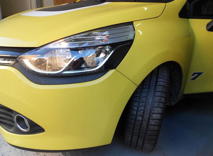 Cambio de neumáticos. Con la llegada del frío montamos unos Vredestein Quatrac 3 (all season)