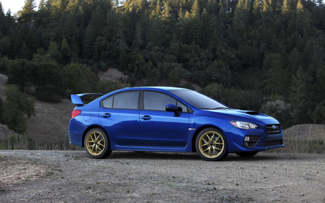 Filtradas las primeras imágenes del Subaru WRX STI