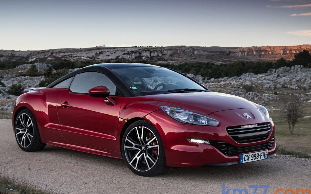 Nuevo RCZ R, el Peugeot más potente