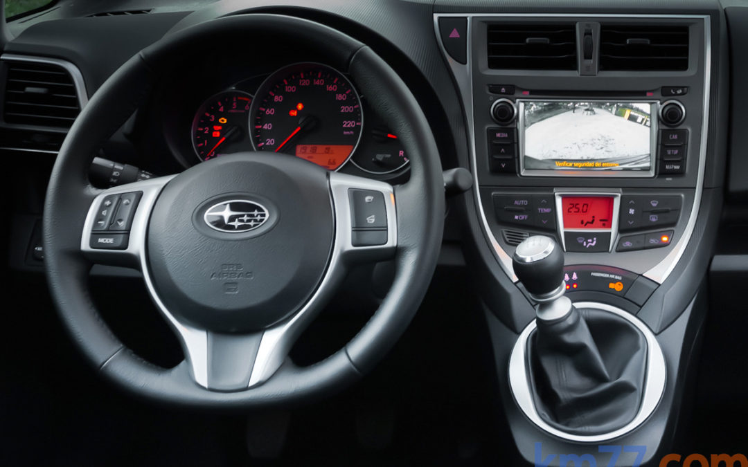 Subaru retira del mercado el monovolumen Trezia