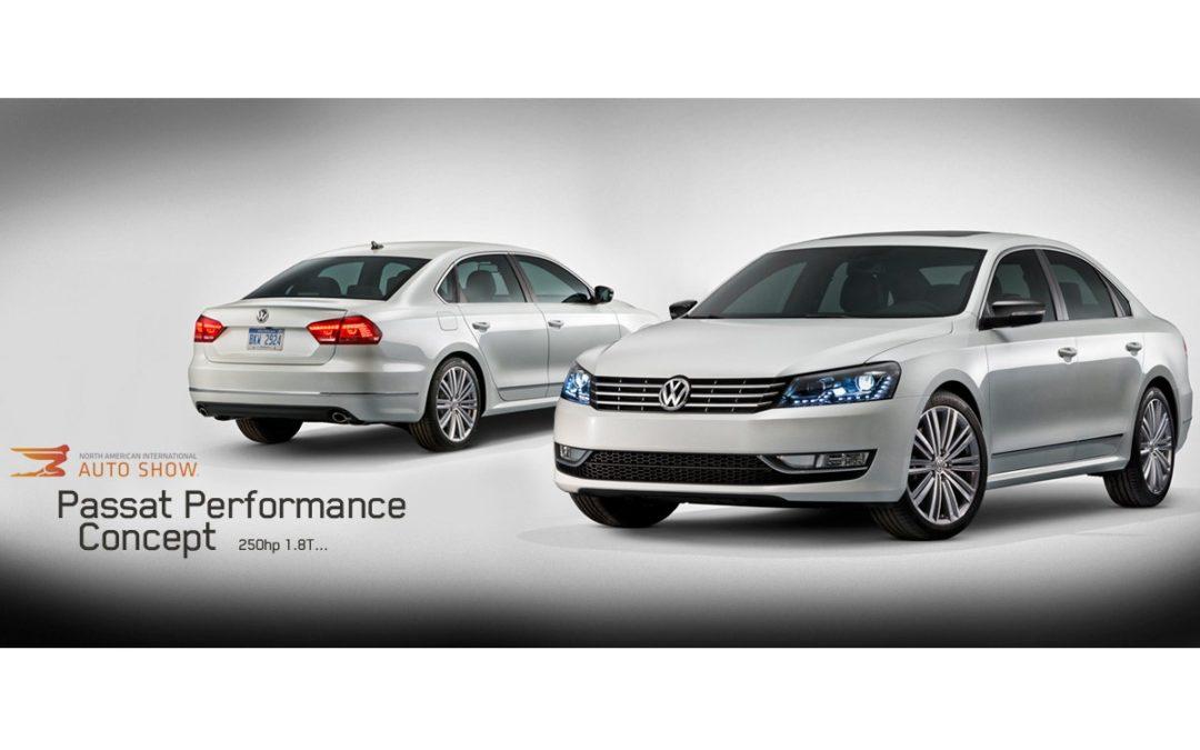 Otras de las novedades de Volkswagen: Passat Performance Concept