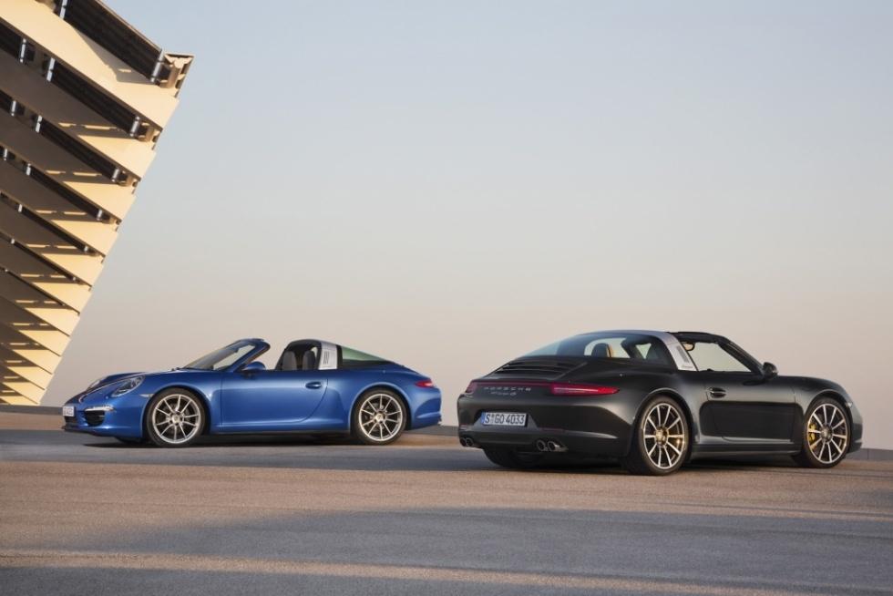 Primeras imágenes del Porsche 911 Targa