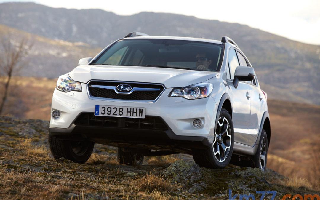 Cambios en la gama Subaru XV.