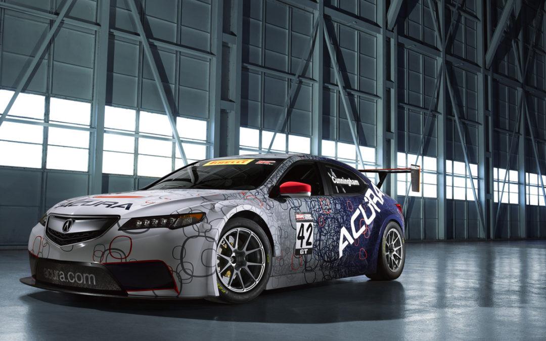 Acura TLX Concept y su versión de carreras