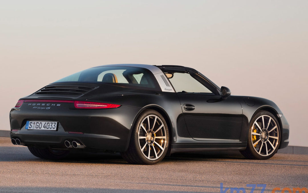 Vídeo: Proceso de plegado del techo del nuevo Porsche 911 Targa