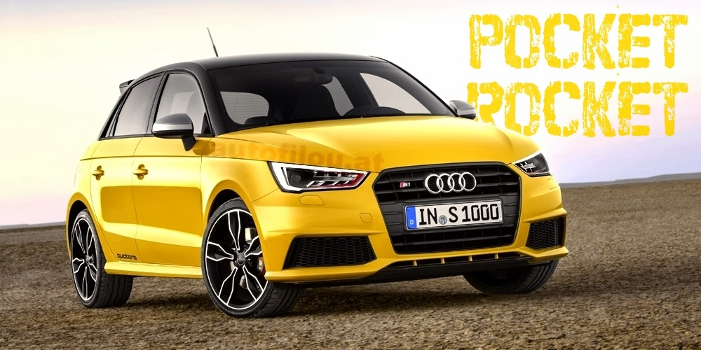 Primera imagen del Audi S1