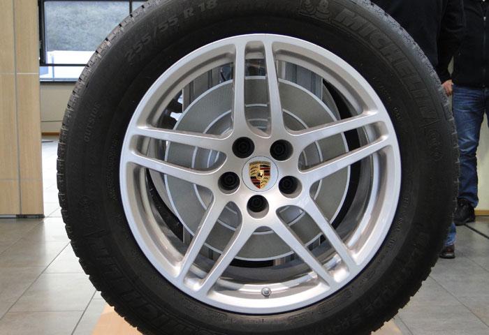 Llantas de 18 pulgadas. Porsche Macan S