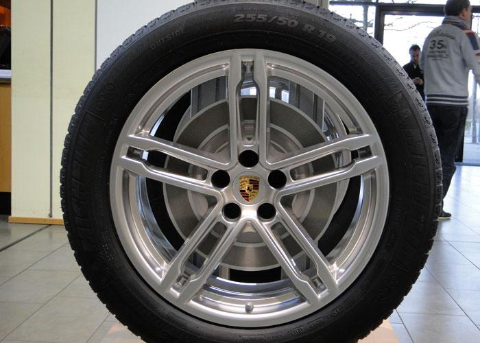 Llantas de 19 pulgadas. Porsche Macan Turbo