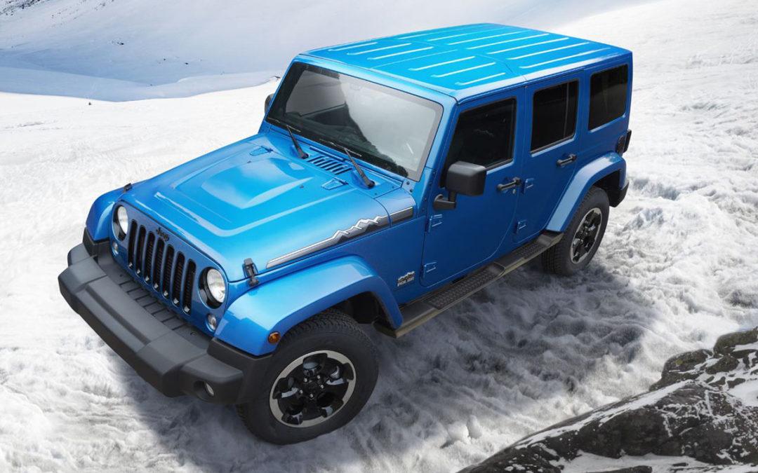 Ya a la venta, las versiones «Polar» del Jeep Wrangler | Engendro ...