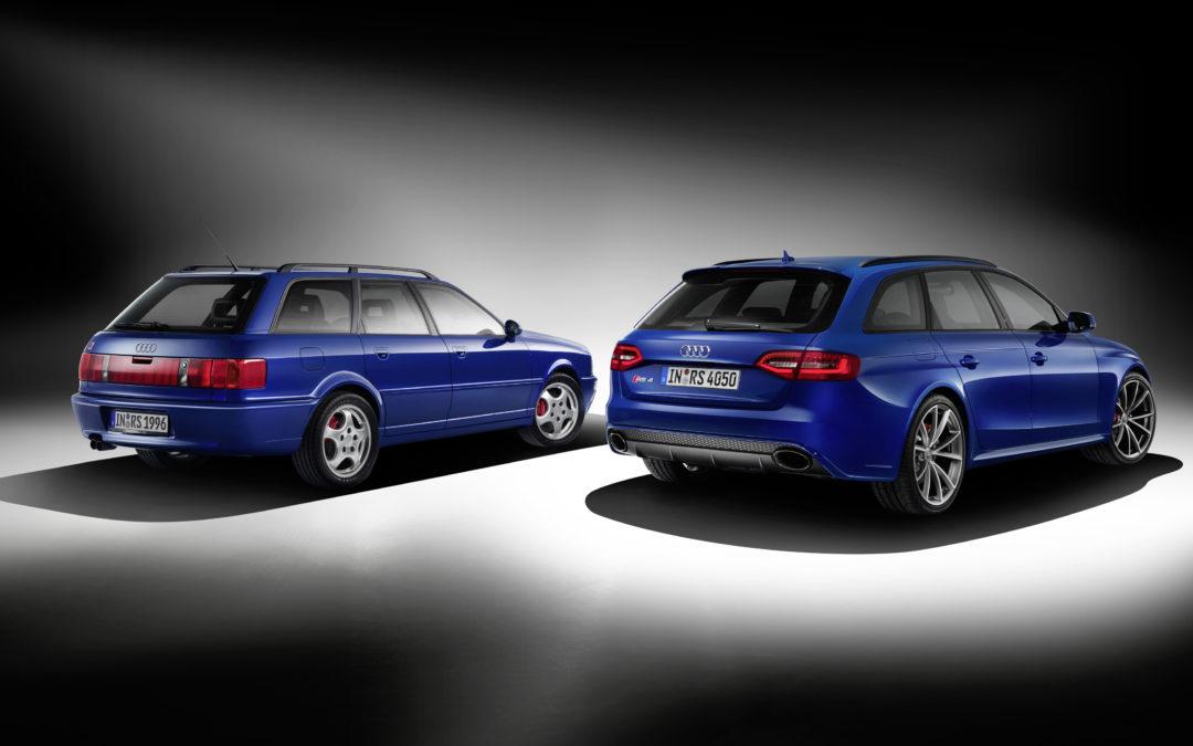 Audi RS4 Avant Nogaro selection. Homenaje al RS2