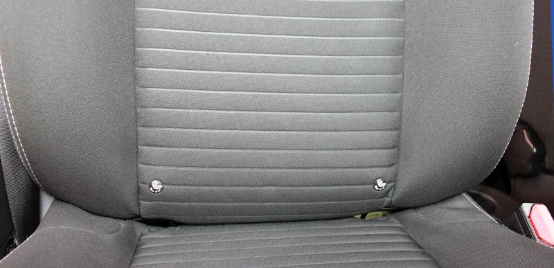 Anclejes Isofix asiento delantero