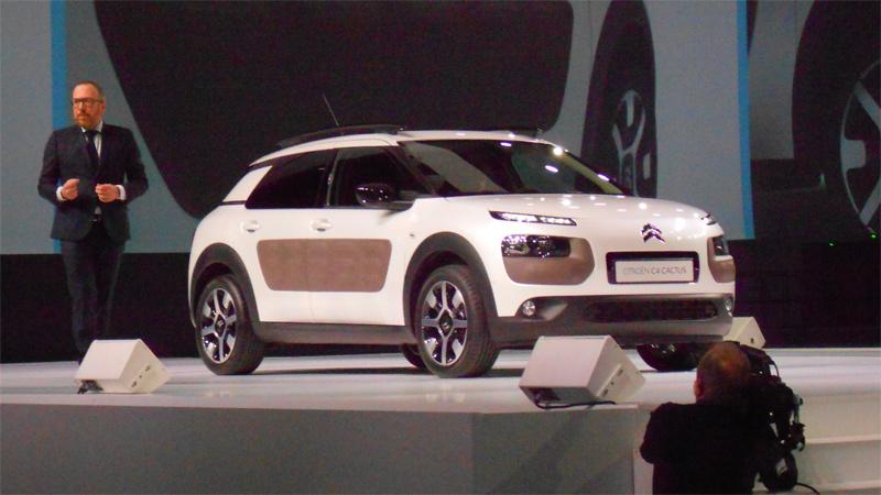 Citroën C4 Cactus, primera información del coche que llegará a la calle.