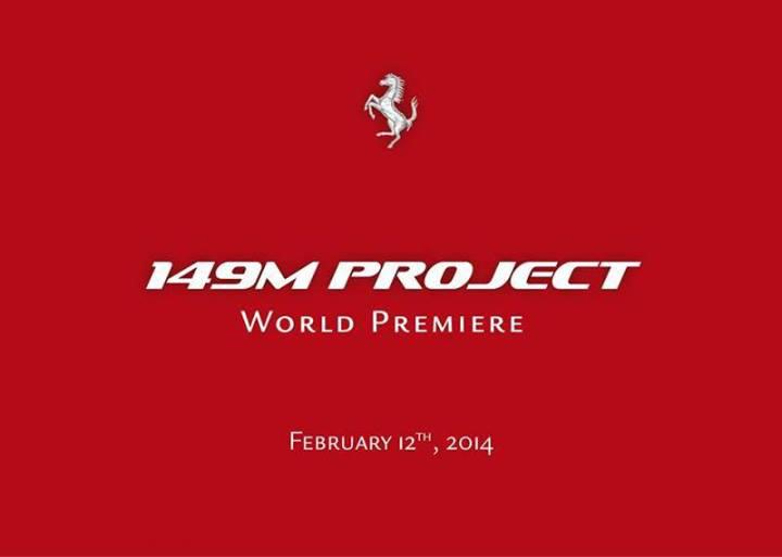 Ferrari tiene preparada una sorpresa para el 12 de febrero