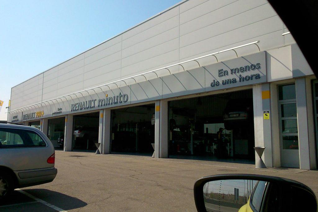 Taller Renault Minuto Automoción Qualiauto