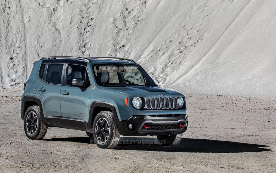 Filtraciones: Nuevo Jeep Renegade