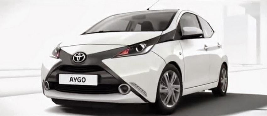 Filtradas las primeras imágenes del Toyota Aygo