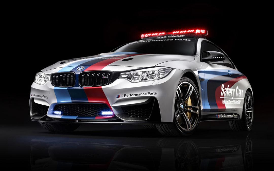 El Safety Car de MotoGP será un BMW M4 Coupé