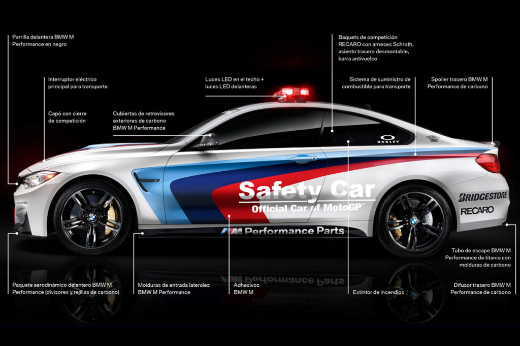 BMW M4 Safety Car Moto GP 04