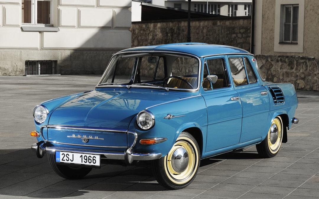 50 años del Škoda 1000MB