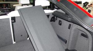 BMW X4. Bandeja del maletero