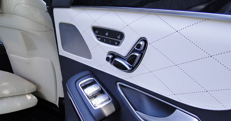 Mercedes-Benz Clase S. Asientos posteriores ventilados y calefactados