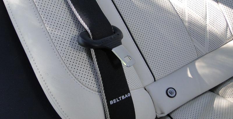 Mercedes-Benz Clase S. Cinturones de seguridad traseros con airbag