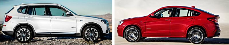 BMW X4. Detalles del habitáculo y maletero