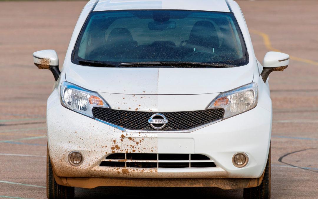 ¿Cansado de lavar el coche? Nissan trabaja en una solución