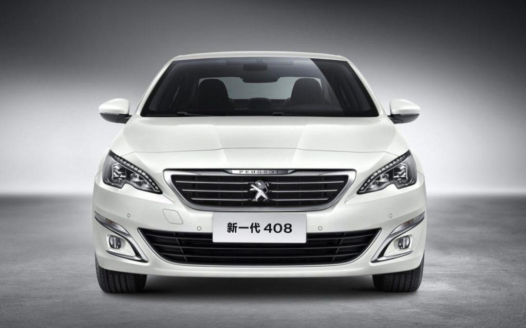 Este es el nuevo Peugeot 408 para el mercado asiático