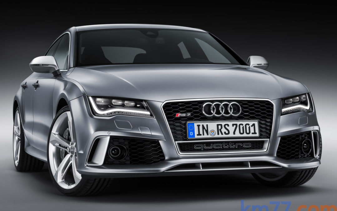 Audi RS7 4.0 TFSI Quattro – 560 CV en absoluto control