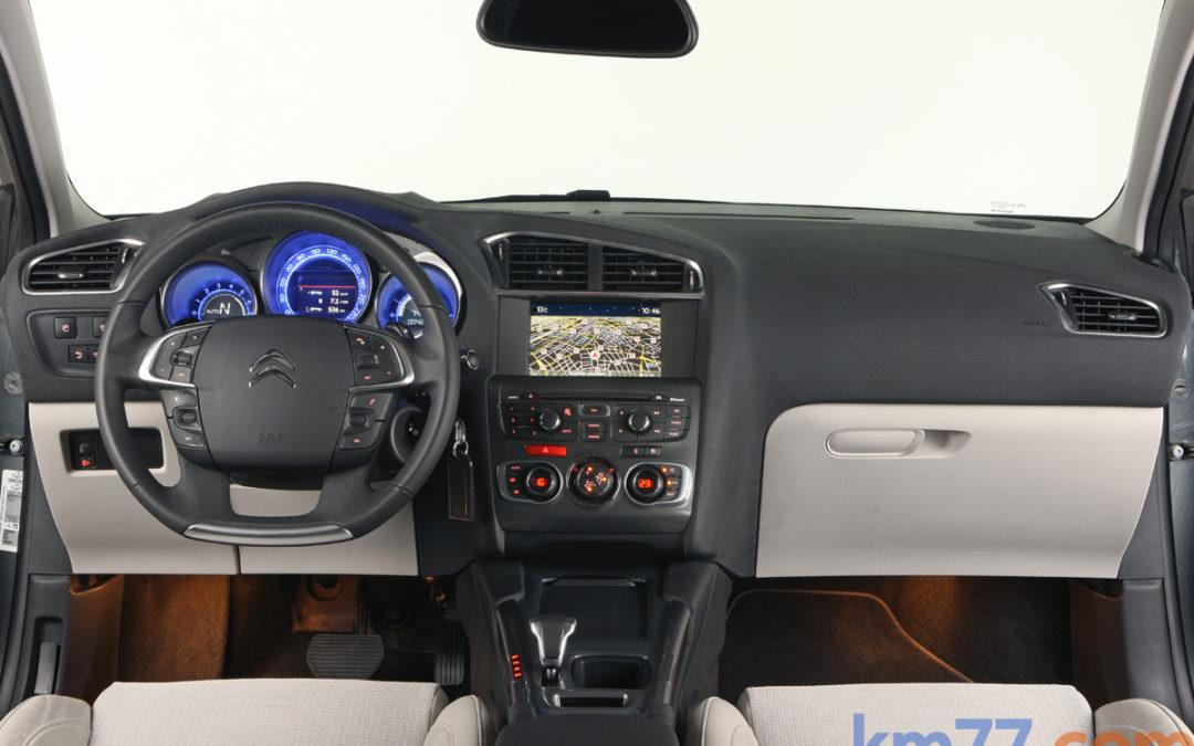 Cambios en la gama Citroën C4