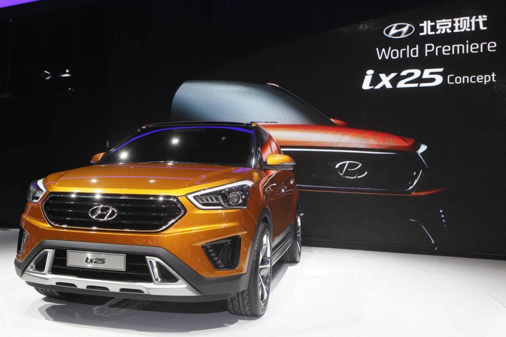Beijing Motor Show_ix25 Concept 1