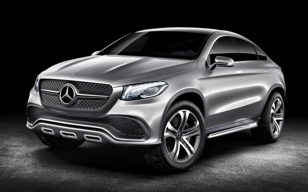 Mercedes-Benz Concept Coupé SUV, el futuro rival del BMW X6