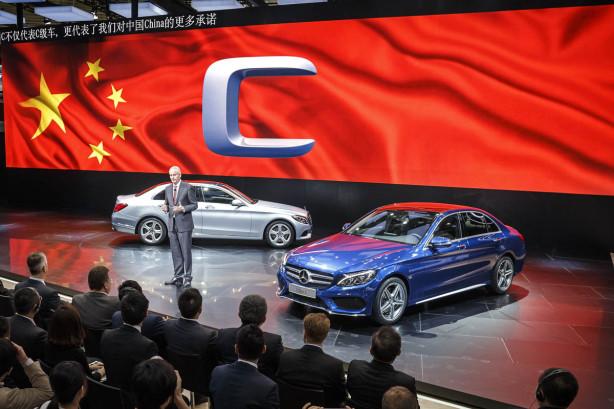 Salón de Pekín. Mercedes-Benz Clase C con batalla extendida