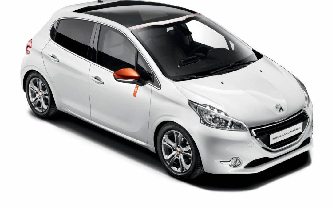 Serie especial Roland Garros para el Peugeot 208